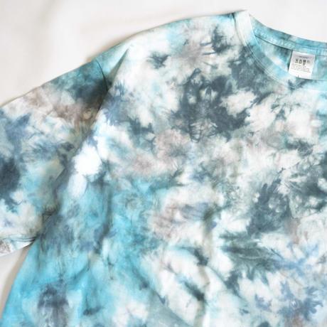 """TEN""タイダイWIDE Tシャツ <022> *ポケット付  size:  L"