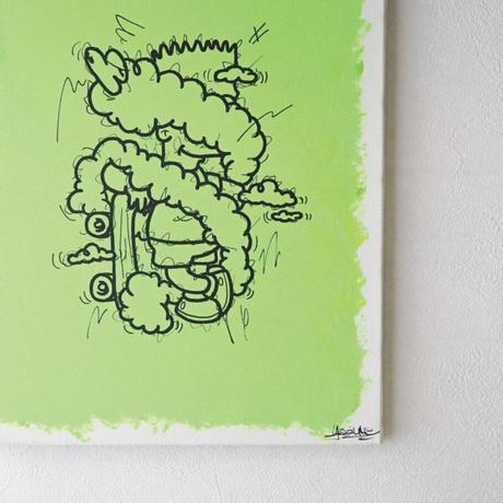 artwork「もやもやとあのこ」 - lightgreen-