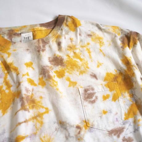 """TEN""タイダイWIDE Tシャツ <027> *ポケット付  size:  L"