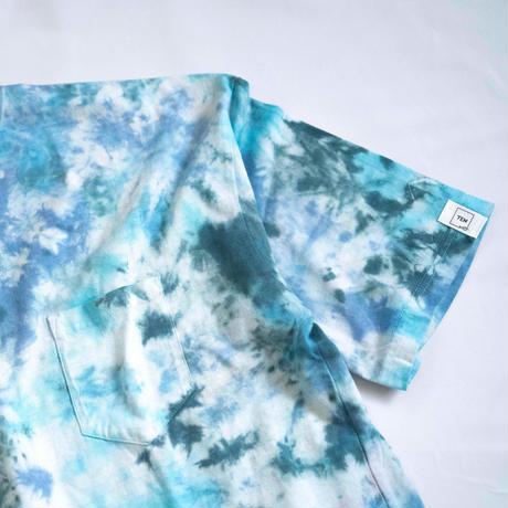 """TEN""タイダイWIDE Tシャツ <031> *ポケット付  size:  XL"