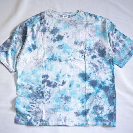 """TEN""タイダイWIDE Tシャツ <032> *ポケット付  size:  XL"