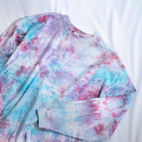 """TEN""タイダイワイドシルエットロングTシャツ <012> size:  XL"
