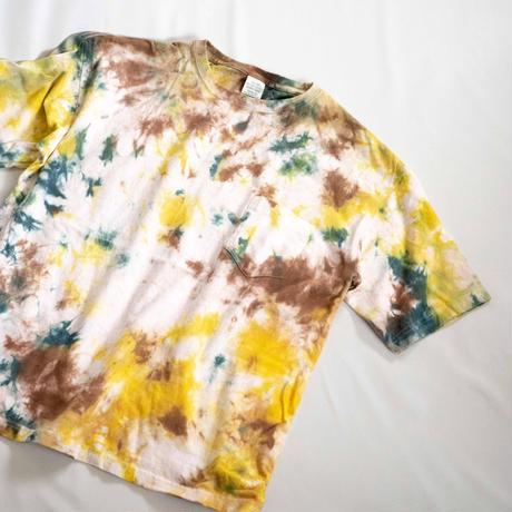 """TEN""タイダイWIDE Tシャツ <005> *ポケット付  size:  M"