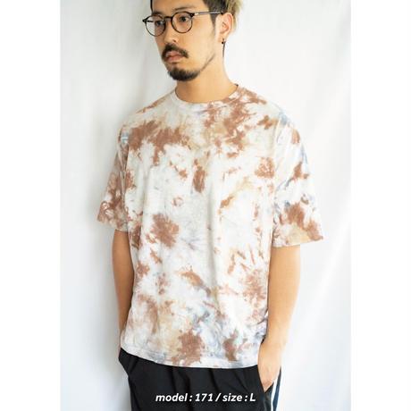 """TEN""タイダイWIDE Tシャツ <011> *ポケット付  size:  L"
