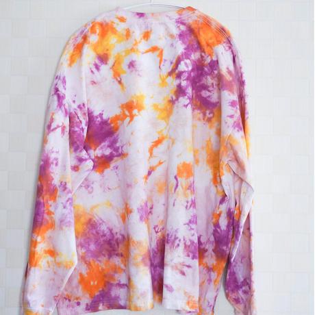 """TEN""タイダイワイドシルエットロングTシャツ <004> size:  L"