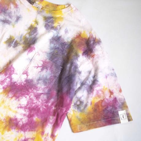 """TEN""タイダイWIDE Tシャツ <018> *ポケット付  size:  M"