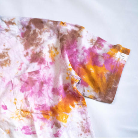 """TEN""タイダイWIDE Tシャツ <033> *ポケット付  size:  XL"