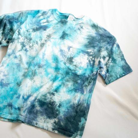 """TEN""タイダイWIDE Tシャツ <009> *ポケット付  size:  M"