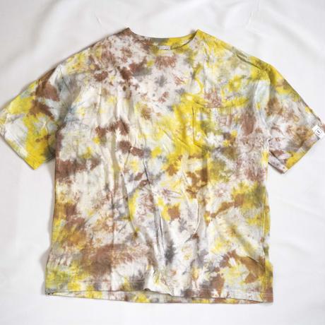 """TEN""タイダイWIDE Tシャツ <024> *ポケット付  size:  L"