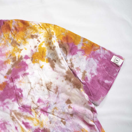 """TEN""タイダイWIDE Tシャツ <023> *ポケット付  size:  L"