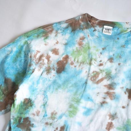 """TEN""タイダイWIDE Tシャツ <030> *ポケット付  size:  XL"