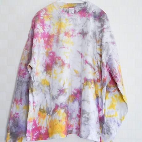 """""""TEN""""タイダイワイドシルエットロングTシャツ <002> size:  M"""
