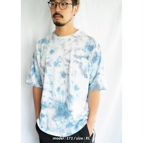 """TEN""タイダイWIDE Tシャツ <003> *ポケット付  size:  S"