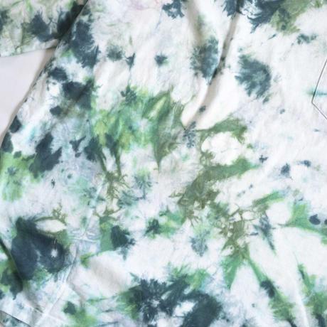 """TEN""タイダイWIDE Tシャツ <028> *ポケット付  size:  L"