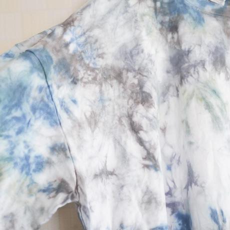 """TEN""タイダイワイドシルエットロングTシャツ <003> size:  L"