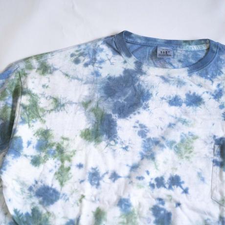 """TEN""タイダイWIDE Tシャツ <034> *ポケット付  size:  XL"