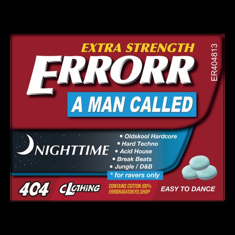 ER-04/ MEDICINE #03 T-SHIRT / BLACK