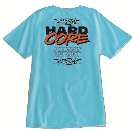 HARDCORE TECHNO REPORT T-SHIRT/ MINT
