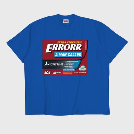 ER-04/ MEDICINE #03 T-SHIRT / BLUE