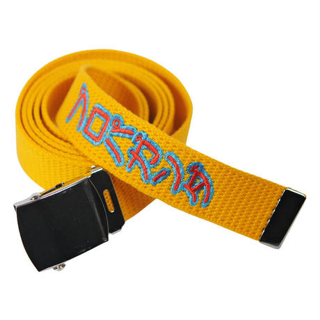 PROPAGANDA BELT/ YELLOW
