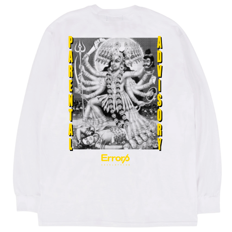 PARENTAL ADVISORY  LONG SLEEVE TEE