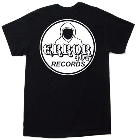 ERROR404 RECORDS TEE