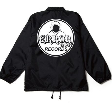 ERROR404 RECORDS COACH JACKET