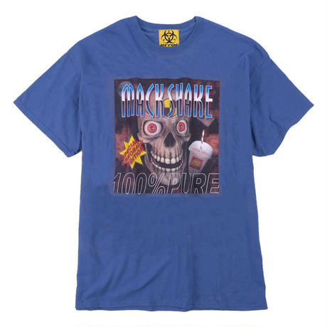 MACK SHAKE COLLABORATION T-SHIRT/ BLUE GRAY