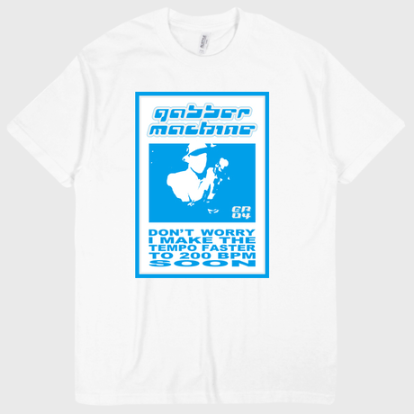 ER-04/ GABBER MACHINE T-SHIRT