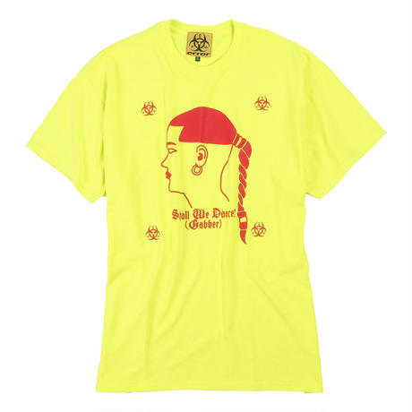 GABBERINA  T-SHIRT/ YELLOW