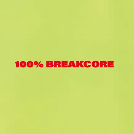 100% BREAKCORE  T-SHIRT/ YELLOW