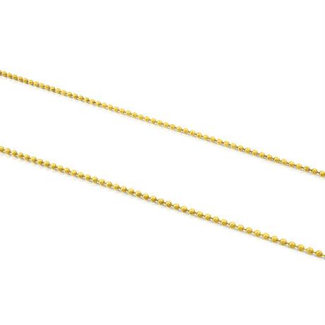 チェーン  TOUS Chains  ボール  50cm イエローゴールドコーティング   【111900120】