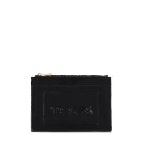 カードケース・ポーチ  Dorp Logo  フラット   合成皮革 ブラック  【095970790】
