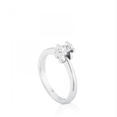 リング Sweet Diamonds ダイヤモンド / 18金ホワイトゴールド / 13号※サイズ直し可(215535010)