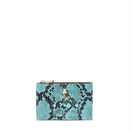 カードホルダー・コインパース Dorp Wild ブルー / 合成皮革 / カード・コイン併用(995970477)
