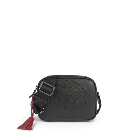 ショルダーバッグ  Leissa    S 牛革 ブラック  【995900737】