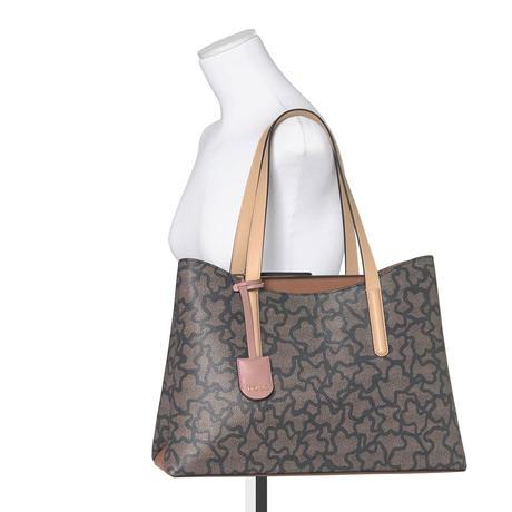 ショルダーバッグ Kaos Icon Shopping  合成皮革 ブラック【095891590】