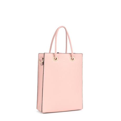 バッグ  T POP  くま   合成皮革ライト ピンク  【195960687】