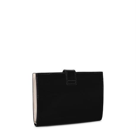 財布  Dorp Logo  2つ折り  S 合成皮革 ブラック  【195960504】