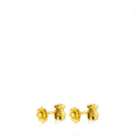 ピアス Puppiesくま 18金ゴールド / 6mm(615260370)