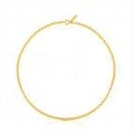 チェーンネックレスTOUS Chains ゴールドコーティング / 40cm(311902920)