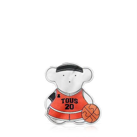 【日本限定品】ピンブローチ  SPORTS  くま  バスケットボール【018186500】