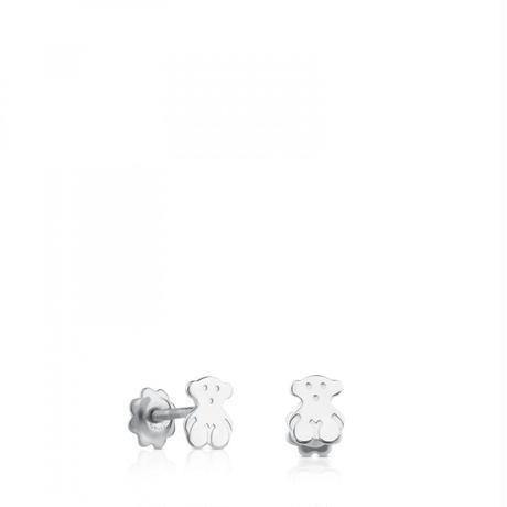 ピアスSweet Dollsくま 18金ホワイトゴールド / 6mm(311001433)