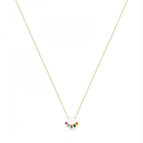 ネックレス Real Sisyパール ジェムストーン / 18金ゴールド / 45cm(812452040)