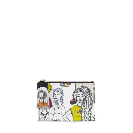 コインパース Tribe ガールズ・ブラック / 合成皮革 / カード・コイン兼用 / 小型(995970255)