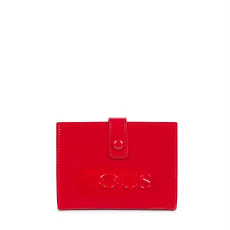財布  Dorp Logo  2つ折り  S 合成皮革 レッド  【195960503】