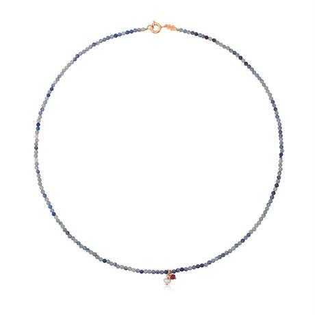 ネックレス  Camille  天然石  38cm ピンクゴールドコーティング デュモルチライト【712162540】