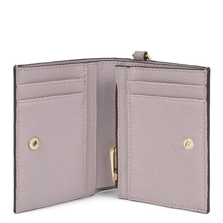 財布  T POP  くま  折り財布 合成皮革 パープル  【195960706】