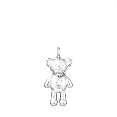 ペンダント  Teddy Bear  くま  38mm シルバー925   【018074525】