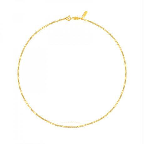 チェーンネックレスTOUS Chains ゴールドコーティング / 45cm(311902910)